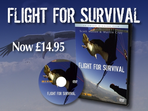 Flight For Survival - DVD Offer